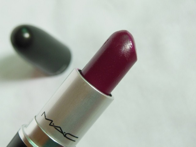MAC Satin Rebel Lipstick Review