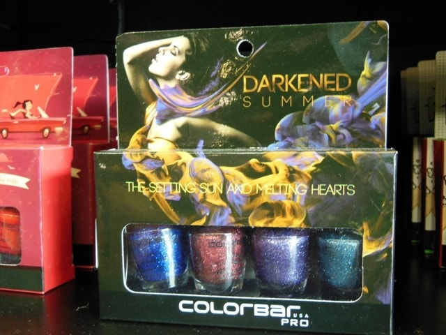 Colorbar Darkened Collection Nail Kit