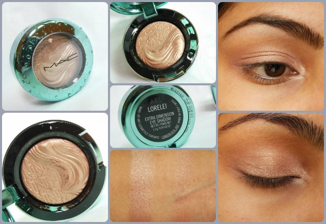 MAC Extra Dimension Eye Shadow Lorelei Eyes