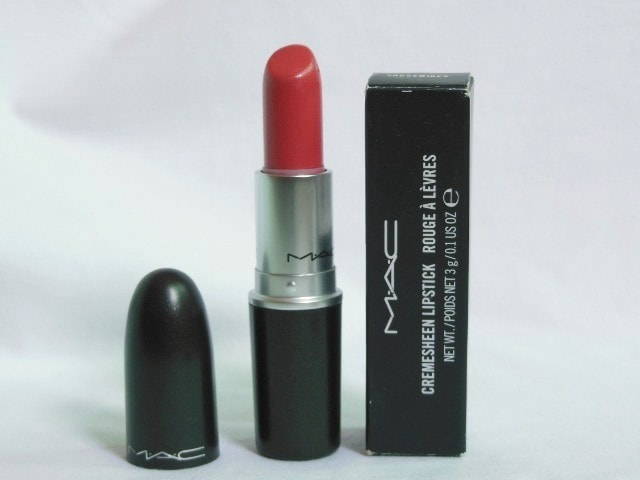 MAC Lipstick Crosswires Review
