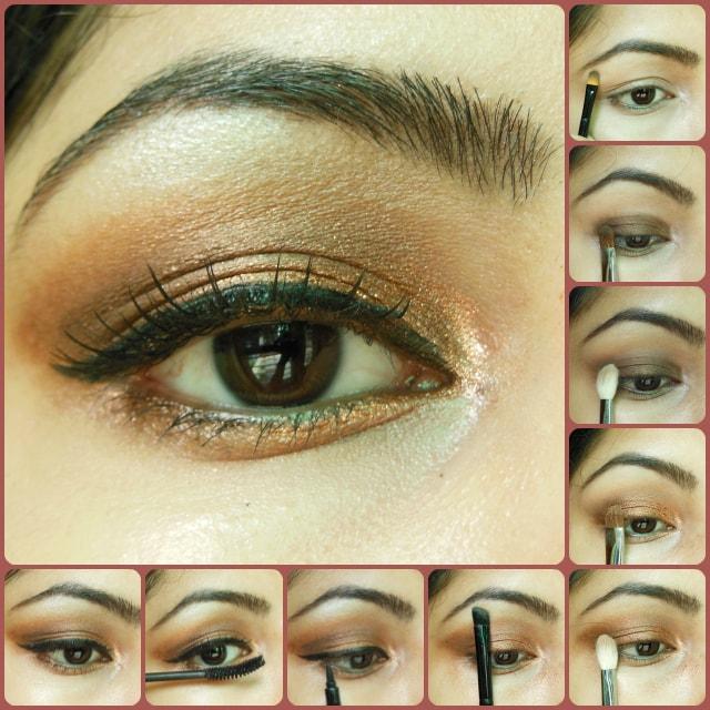 Parineeti Chopra Vogue 2014 Inspired Eye makeup