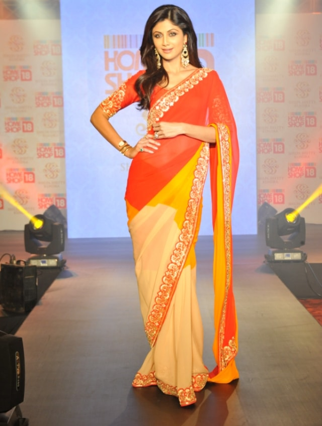 Shilpa Shetty Sarees at HomeShop18
