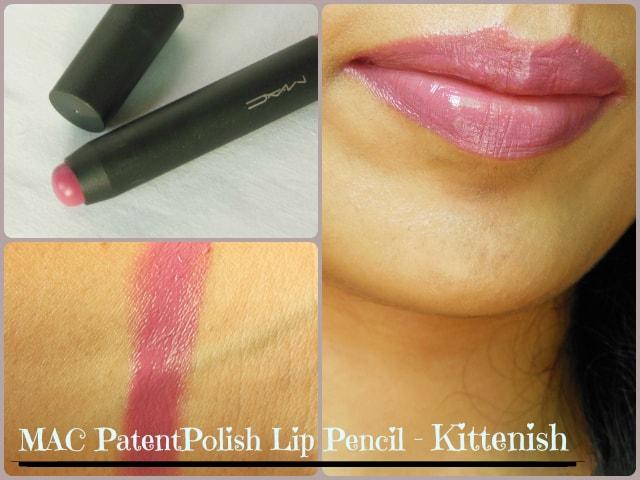 MAC Patent Polish Lip Pencil Kittenish Look