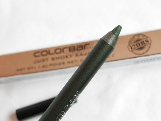 Colorbar Just Smoky Kajal Just Green Review