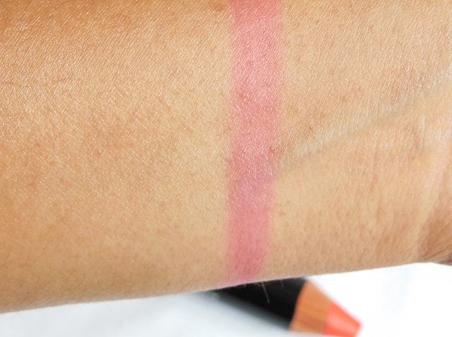 Colorbar Take Me As I Am Lip color Peachy Pink Stain Swatch