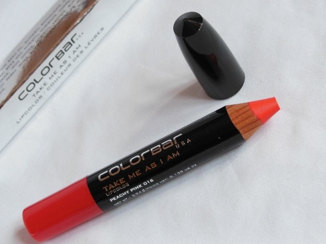 Colorbar Take Me As I Am Peachy Pink 013 Review