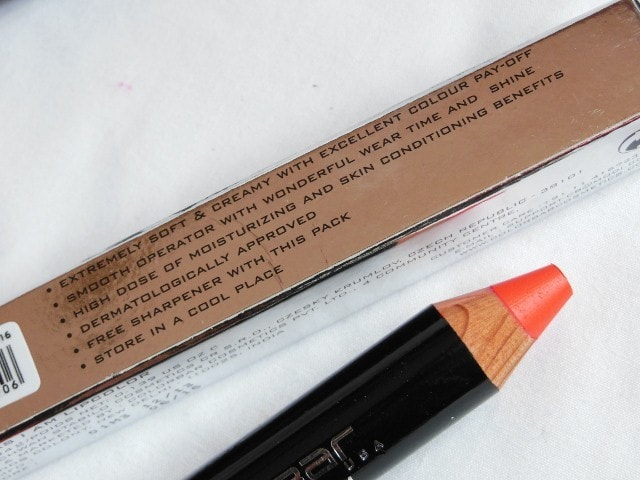 Colorbar Take Me As I Am Peachy Pink Lip color Claims