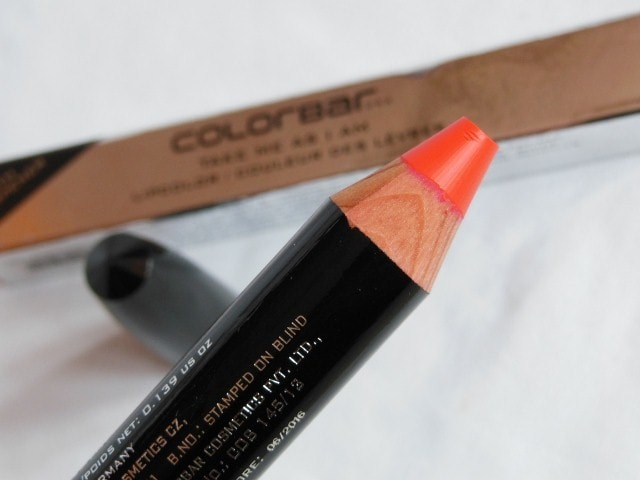 Colorbar Take Me As I Am Peachy Pink Review