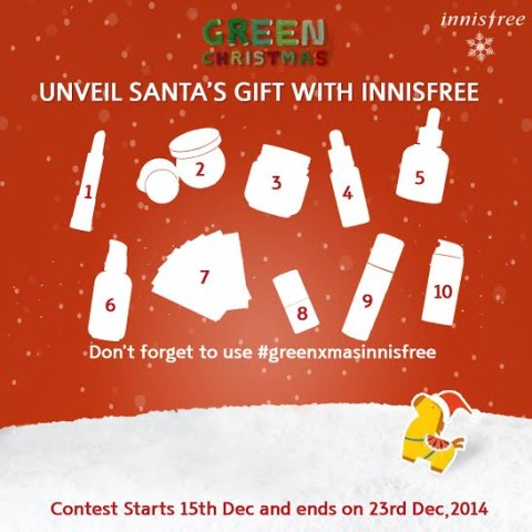 Innisfree Christmas Contest