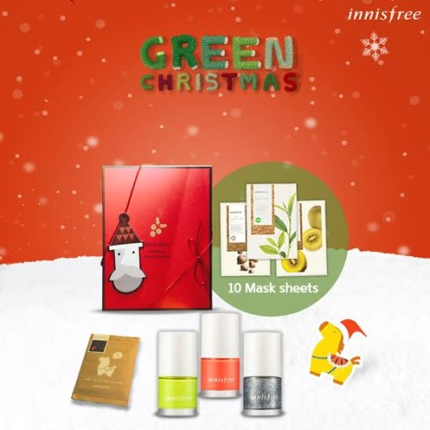 Innisfree Christmas Contest Prizes