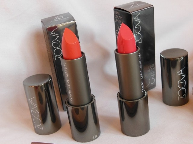 Luxola Haul - Zoeva Luxe Cream Lipsticks