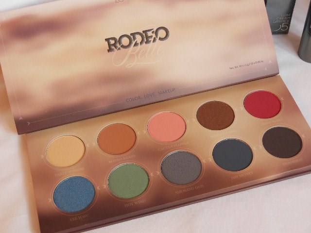 Luxola Haul - Zoeva Rodeo belle Eye Shadow Palette