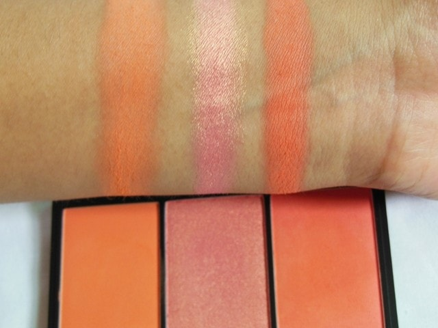 Sleek Lace Blush Palette - Swatch