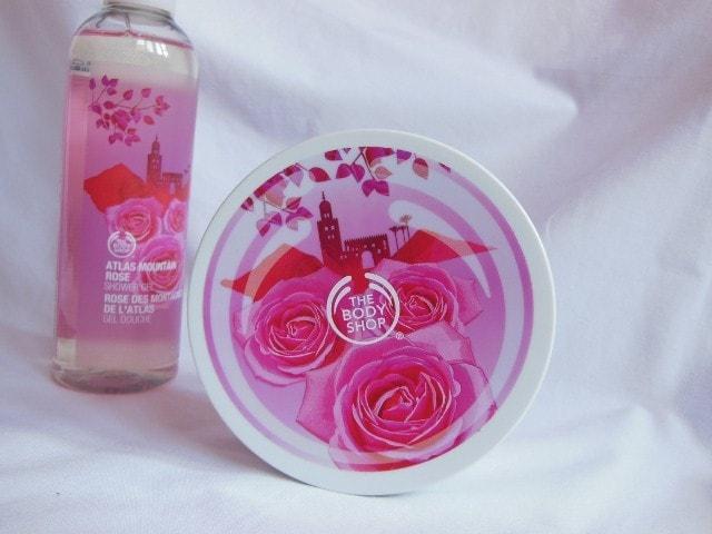 The Body Shop Atlas Mountain Rose Body Butter