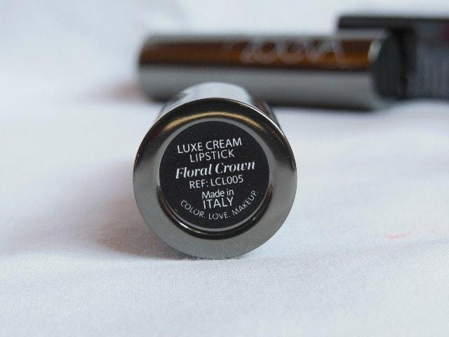 Zoeva Luxe Cream Lipstick Floral Crown 05