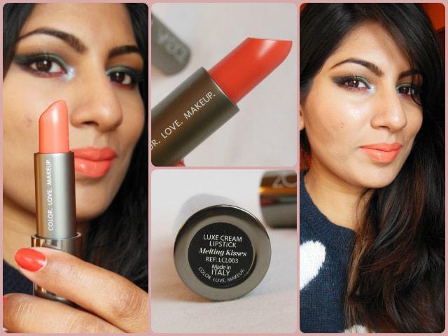 Zoeva Luxe Cream Lipstick Melting Kisses Look
