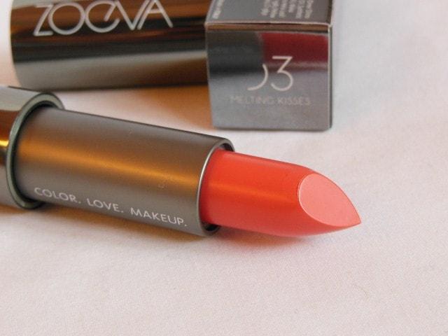 Zoeva Luxe Cream Lipstick Melting Kisses