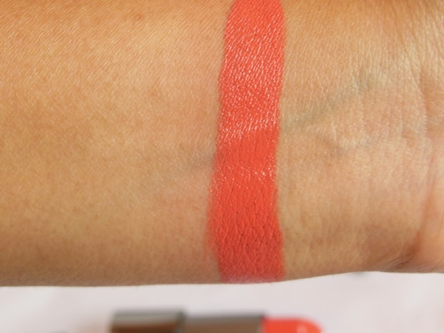 Zoeva Luxe Cream Melting Kisses Lipstick Swatch