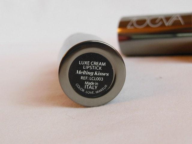 Zoeva Luxe Cream Melting Kisses Lipstick