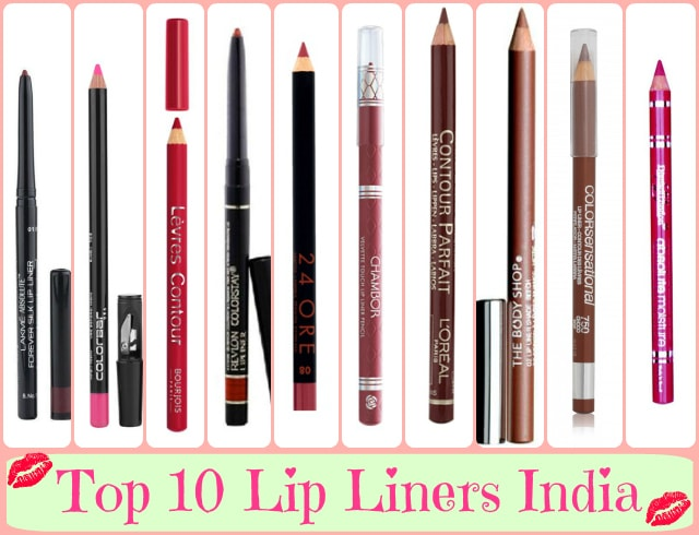 10 Best Lip Liner Brands India