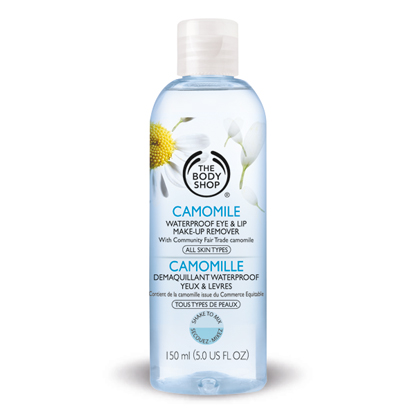 Best Makeup Removers - The Body Shop Camomile waterproof Eye-makeup remover