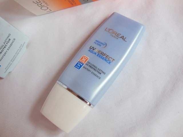 L'Oreal Aqua  Essence UV Perfect SPF 30 Sunscreen