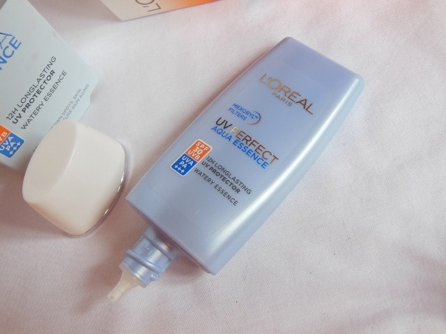 L'Oreal Aqua  Essence UV Perfect Sunscreen