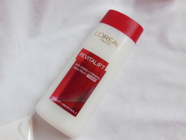 L'Oreal Paris Revitalift Anti - Ageing + Firming  Aqua Milky Toner Review