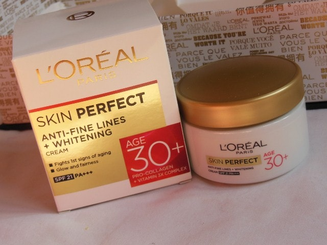 L'Oreal Skin Perfect Skin care Range for 30+