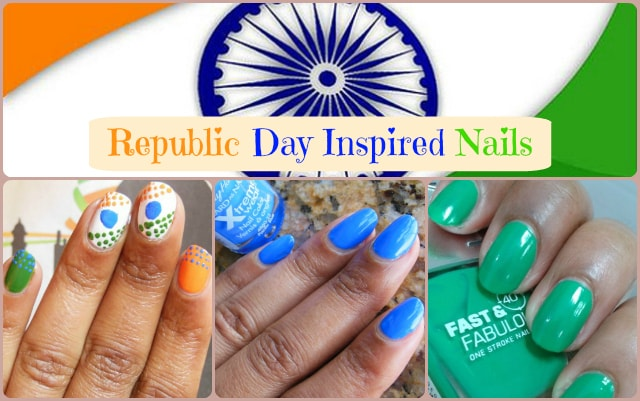 Republic Day Inspired Nails