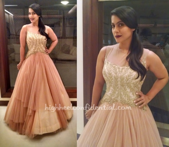 Best Dressed at Filmfare Awards 2015 -Kajol 2