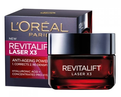 Best Night Creams for Normal - Dry Skin - L'Oreal Paris Revitalift Laser X3 Anti-Ageing Cream