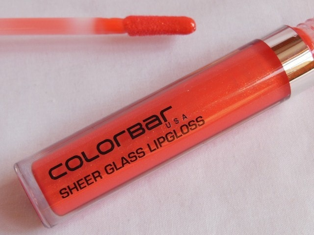 Colorbar Sheer Glass Lip Gloss in Coral Embrace