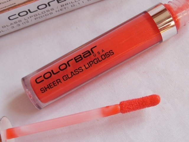 Colorbar Sheer Glass Lip Gloss in Coral Embrace Review