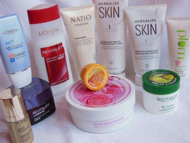 Current Skincare Regime dry skin - February 2015