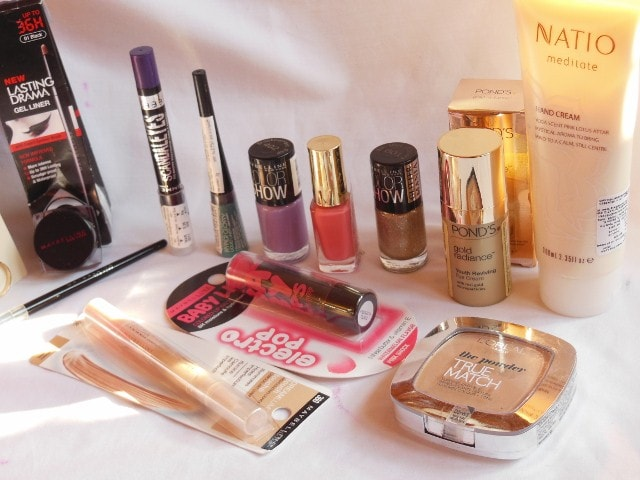 February Drugstore Haul - Maybelline, Rimmel, L'Oreal Paris