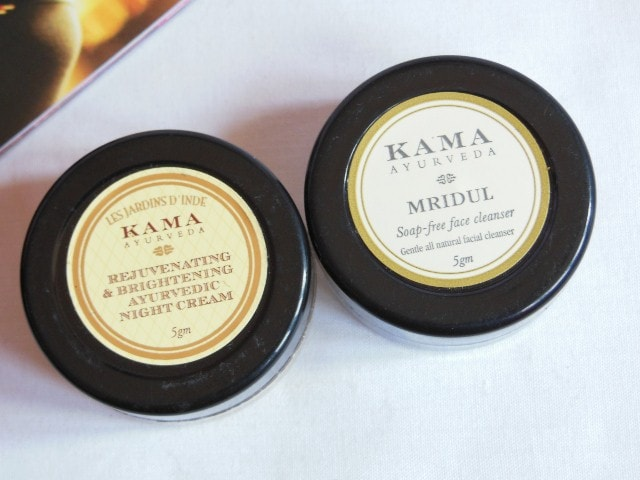 February Fab Bag - Kama Mridul Cleanser and Night Cream