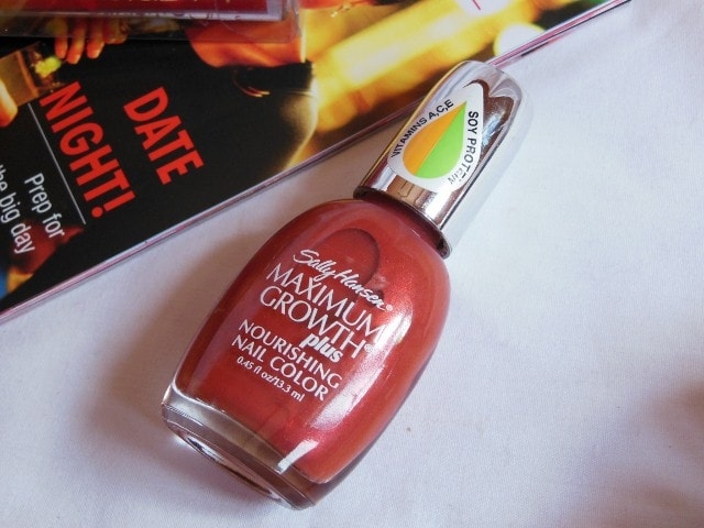 February Fab Bag - Sally Hansen Maxiimum Growth Nail Paint