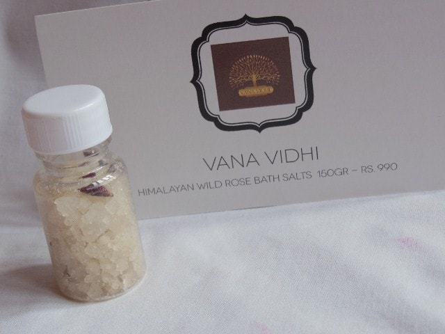My Envy Box February 2015 - Vana Vidhi Rose Bath Salts