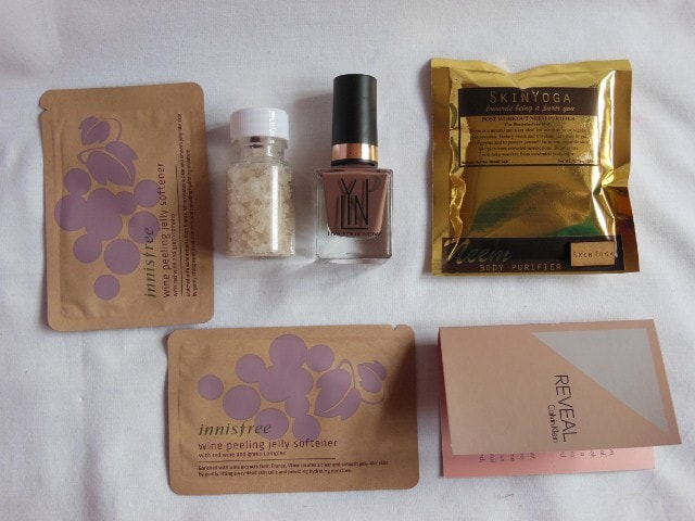 My February Envy Box Contents
