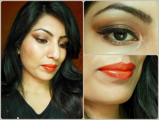 Valentine Day Makeup Look - Brown Eyes and Classic Red Lips