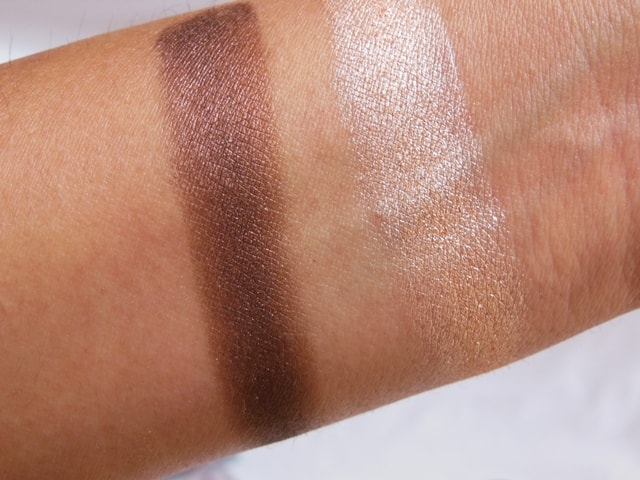 Essence 3D Irresistble Choco CupCake Eye Shadow swatch 1