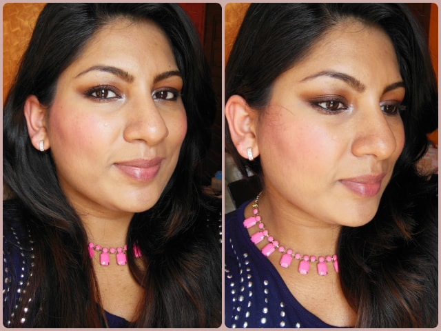 Essence Blush Up Pink Flow Powder Blush FOTD