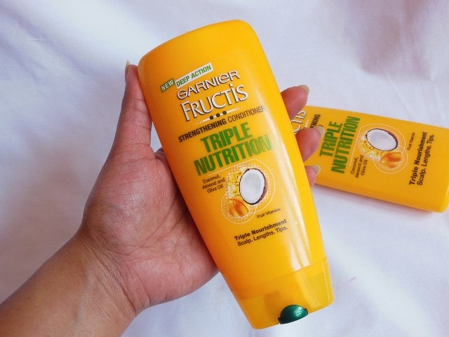 Garnier Fructis Triple Nutrition Strengthening Conditioner Review