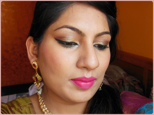 INGLOT Powder Blush #27 Look