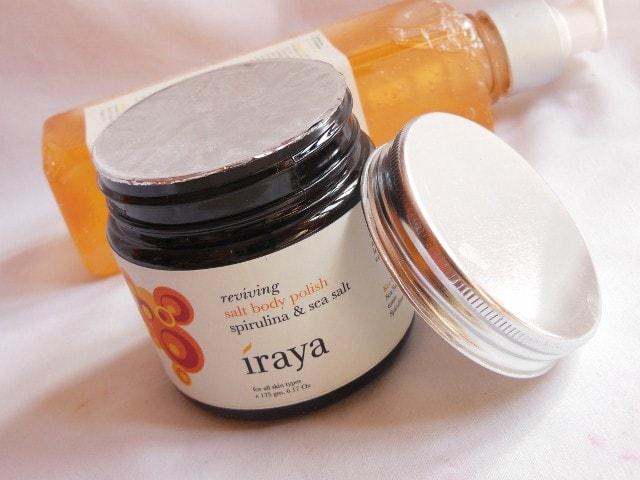 Iraya Reviving Salt Body Polish Spirulina and Sea Salt