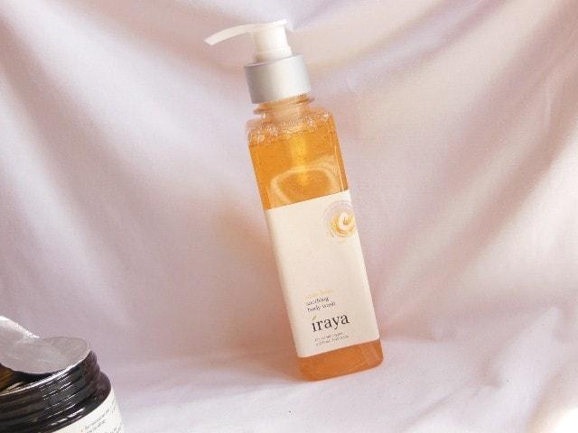 Iraya White Lotus Soothing Body Wash Packaging