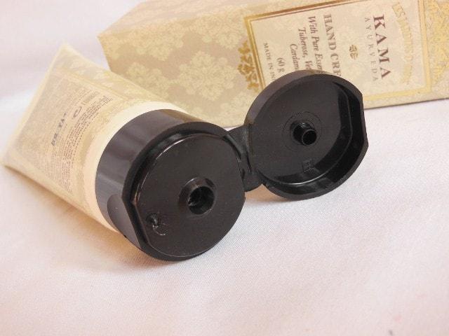 Kama Ayurveda Hand Cream Packaging