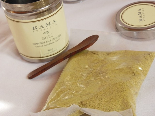 Kama Ayurveda Mridul Soap Free Face Cleanser Packaging