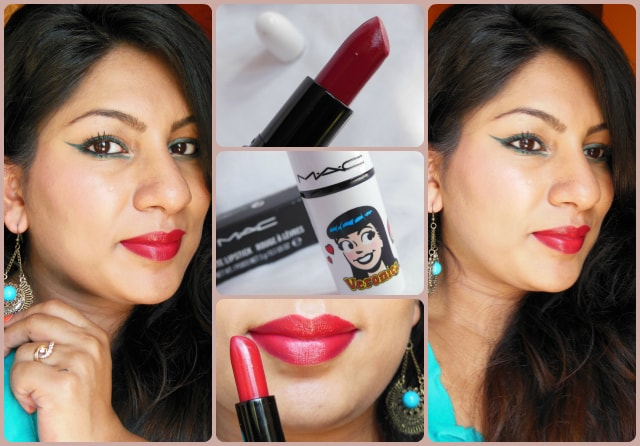 MAC Archies Collection Ronnie Red Lipstick Look